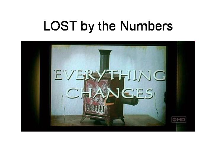 LOST by the Numbers