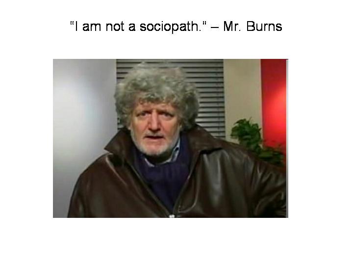 I am not a sociopath